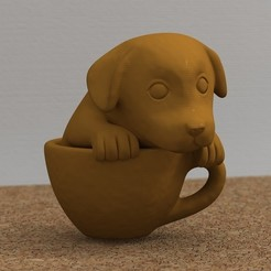 Free 3D model teacup puppy, bs3