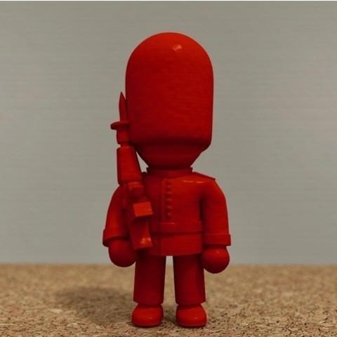 Descargar modelo 3D gratis Guardia de la Reina, bs3
