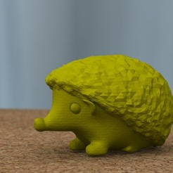 Download STL file hedgehog • 3D printing design, bs3