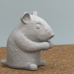 Free 3D print files [FREE] hamster, bs3