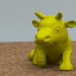 Download free 3D model bull lying down [FREE], bs3