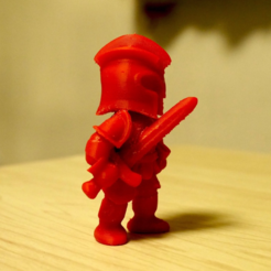 Free 3d print files intimidating knight, bs3