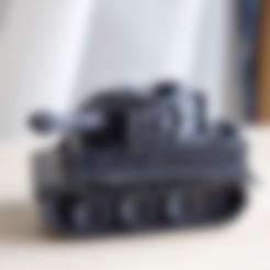 tank_tiger.stl Download free STL file heavy tank • 3D printable model, bs3