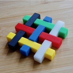 Free 3d printer model lattice puzzle (remodeled), bs3