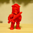 Download free STL file intimidating knight • 3D printable object, bs3