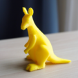 Free 3D printer model kangaroo, bs3