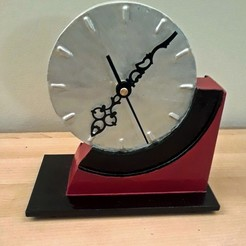 3D printer models Art Deco Mantle Clock, Breezor