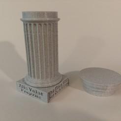 20200823_174129.jpg Download STL file Greek Column Desk Art • 3D printable object, Breezor