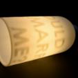 "02.png Download free STL file Secret message lamp ""WOULD YOU MARRY ME"" • 3D printable model, leFabShop"