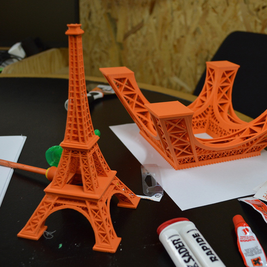 2.jpg Télécharger fichier STL gratuit Tour Eiffel de 615 mm  • Design pour impression 3D, leFabShop