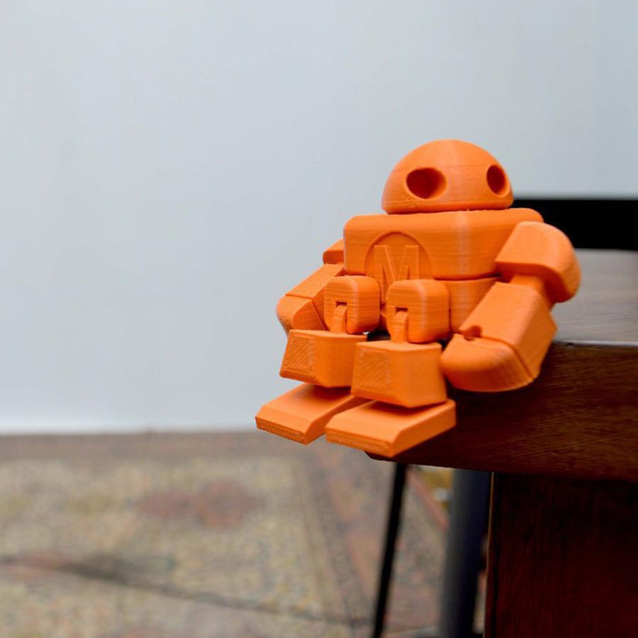 robot_maker_faire_lefabshop_paris_3.jpg Download free STL file Maker Faire Robot Action Figure (Single file) • 3D printer object, leFabShop