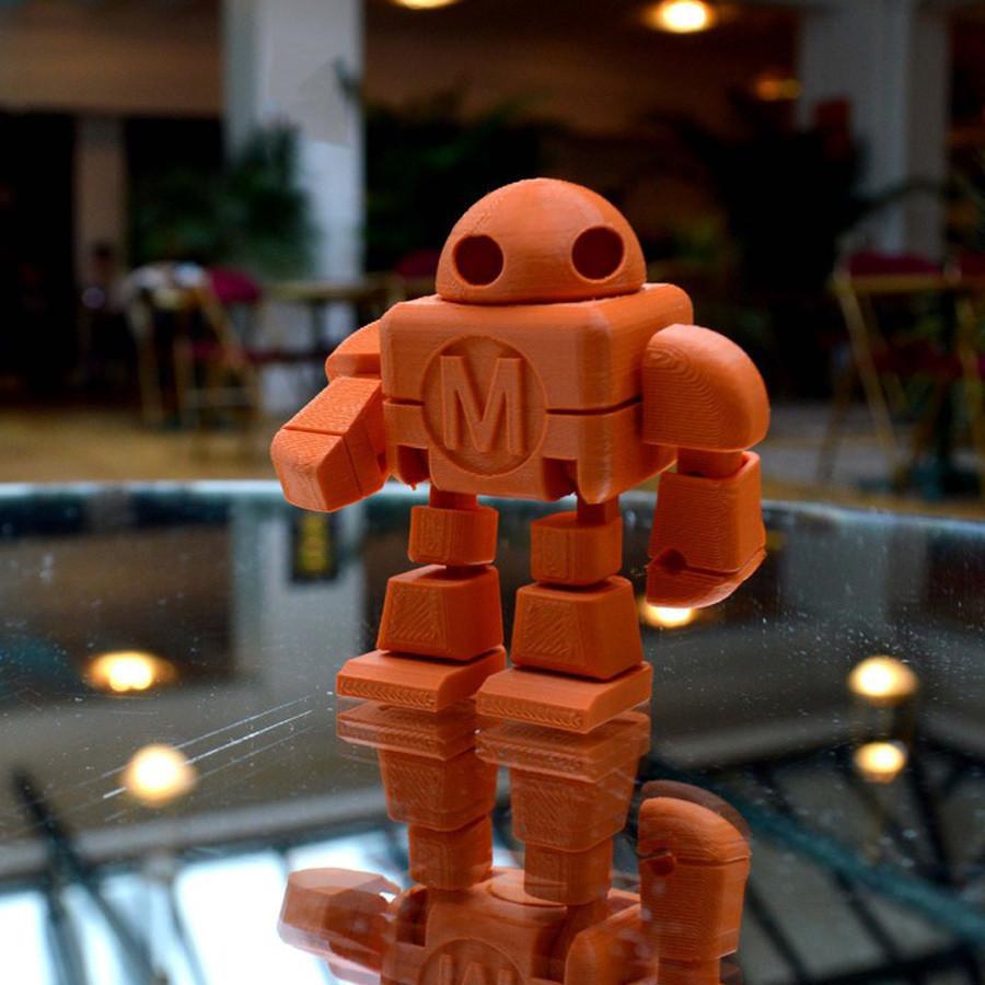 robot_maker_faire_lefabshop_paris_4.jpg Download free STL file Maker Faire Robot Action Figure (Single file) • 3D printer object, leFabShop