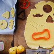 Download free STL file Cookie Cutter, leFabShop