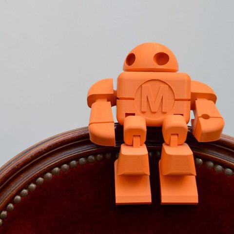 Maker_Faire_Paris_Cults_Robot_leFabShop_1.jpg Download free STL file Maker Faire Robot Action Figure (Single file) • 3D printer object, leFabShop