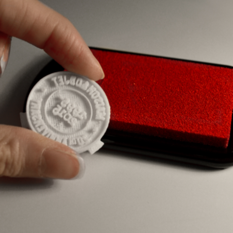 DSC_0651.png Download free STL file Homemade stamp • 3D printer model, leFabShop