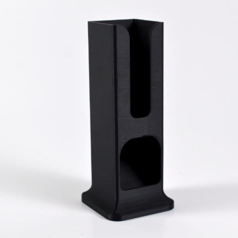 04-1.png Download free STL file Coffee capsules dispenser • 3D print design, leFabShop