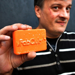 Download free STL files le FabClub's fraternity soap., leFabShop