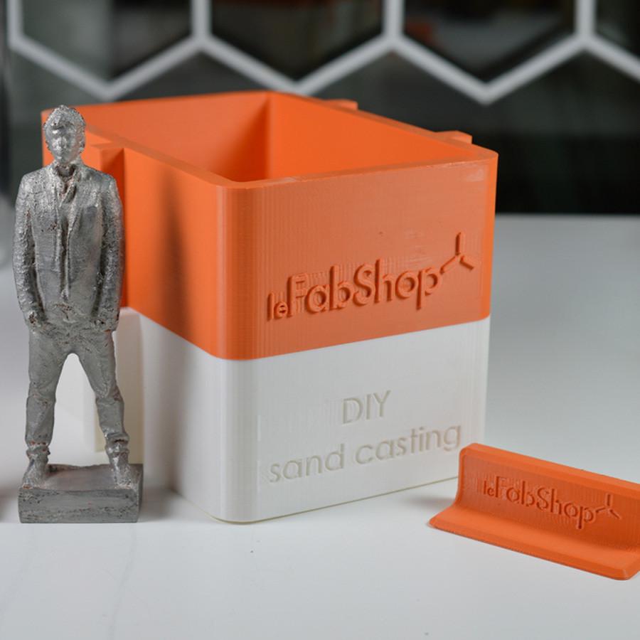 1.jpg Télécharger fichier STL gratuit DIY Sand casting kit • Objet pour imprimante 3D, leFabShop