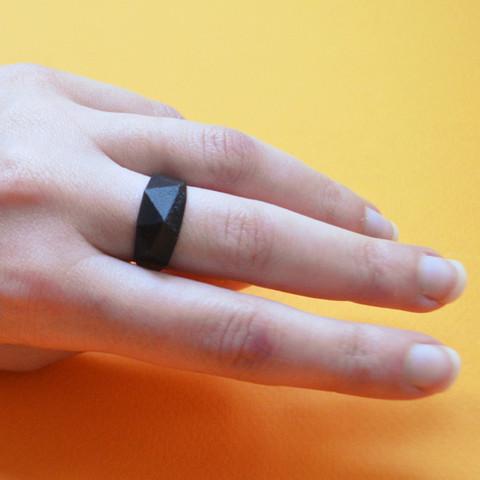 "3.jpg Download free STL file the ""Bling Rings"" • 3D print model, leFabShop"