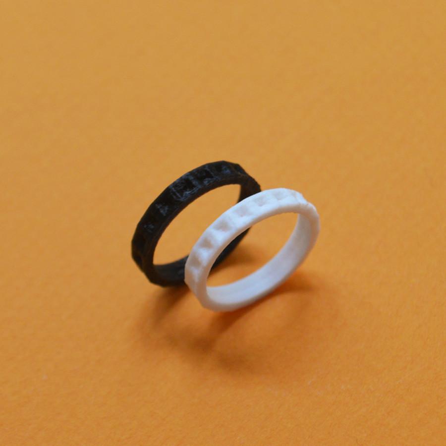 "4.jpg Download free STL file the ""Bling Rings"" • 3D print model, leFabShop"