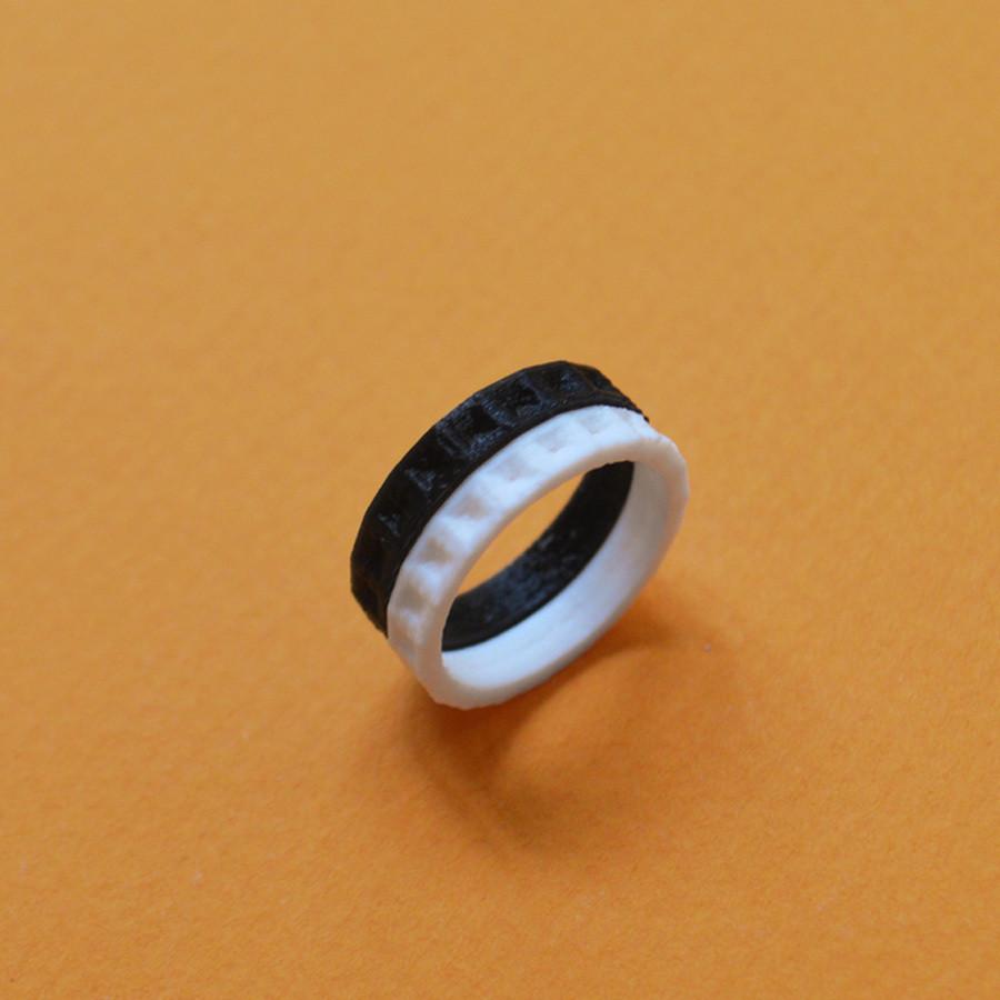 "6.jpg Download free STL file the ""Bling Rings"" • 3D print model, leFabShop"
