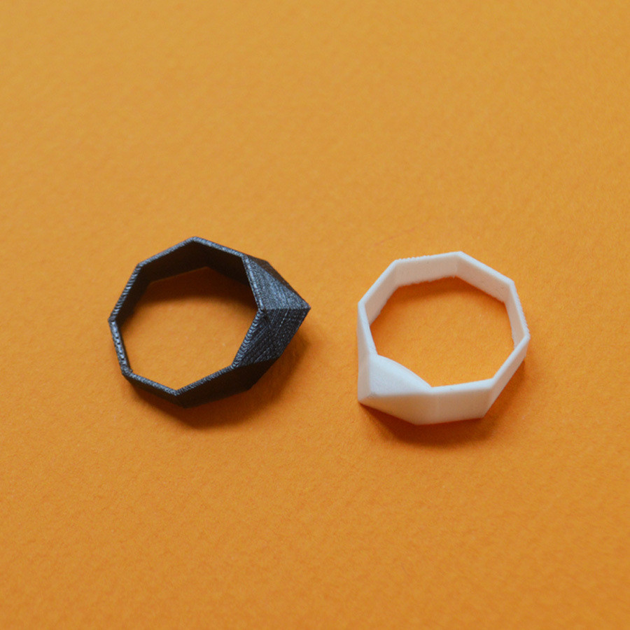 "7.jpg Download free STL file the ""Bling Rings"" • 3D print model, leFabShop"