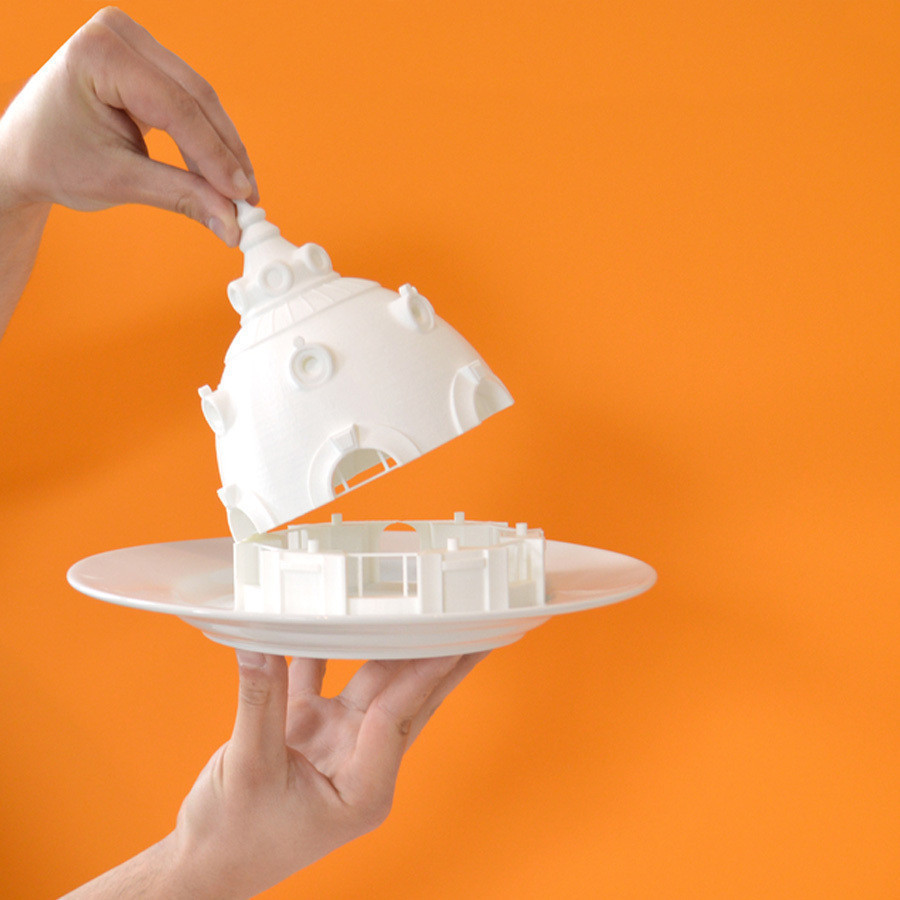 1.jpg Download free STL file Observatoire du Bazar de l'Hotel de Ville, Paris • 3D printer design, leFabShop