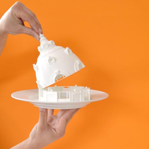 Free Observatoire du Bazar de l'Hotel de Ville, Paris 3D model, leFabShop