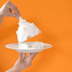 Imprimir en 3D gratis Observatorio del Bazar del Hotel de Ville, París, leFabShop