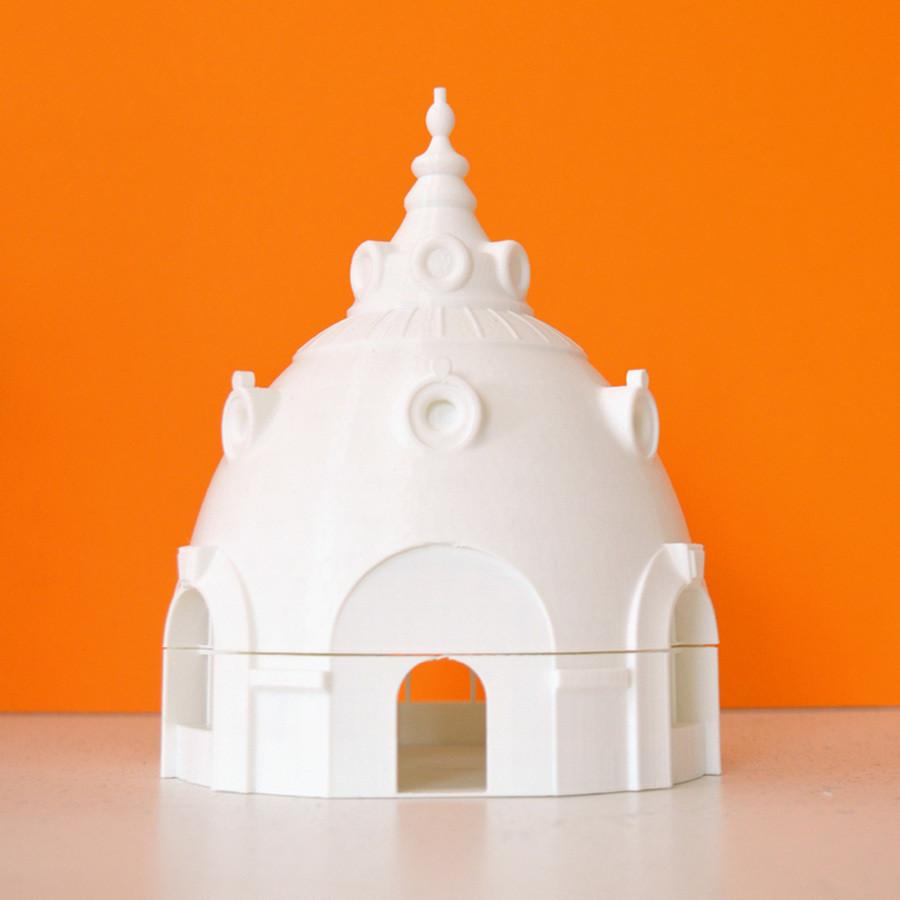 2.jpg Download free STL file Observatoire du Bazar de l'Hotel de Ville, Paris • 3D printer design, leFabShop