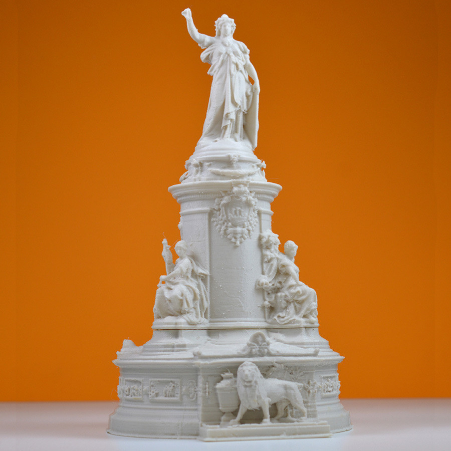 1.jpg Download free STL file Place de la republique, Paris • 3D print model, leFabShop