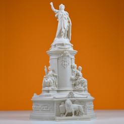 Free Place de la republique, Paris 3D printer file, leFabShop