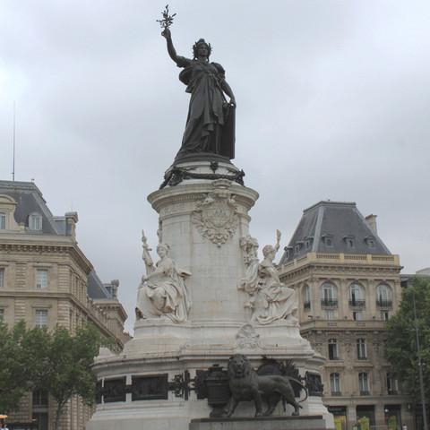 2.jpg Download free STL file Place de la republique, Paris • 3D print model, leFabShop