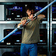 Download free STL file Telescopic Light Saber • 3D printer object, leFabShop