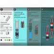 Objet 3D gratuit Sabre Laser Téléscopique, leFabShop