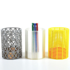 Vases.jpg Download free STL file M&O Vases for Paris, Miami and Singapour • Template to 3D print, leFabShop