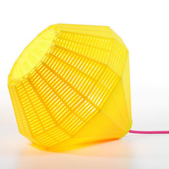 Download free 3D printer templates M&O Miami Lamp, leFabShop