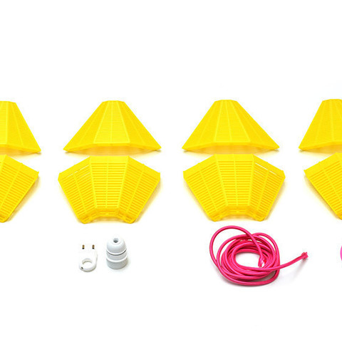 lamp_Miami_part.jpg Download free STL file M&O Miami Lamp • 3D print design, leFabShop