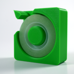 02bis.png Download free STL file Tape dispenser • Object to 3D print, leFabShop