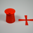 Free 3D printer files Le Moulin-Rouge, leFabShop