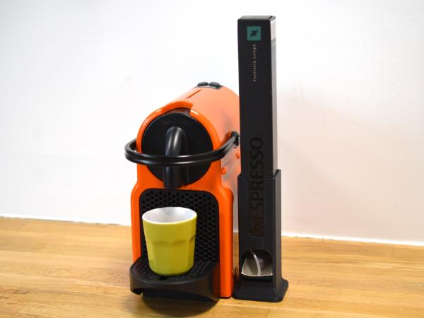 01.png Download free STL file Coffee capsules dispenser • 3D print design, leFabShop