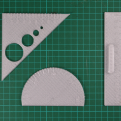 Free 3d printer files Tracing Set, leFabShop