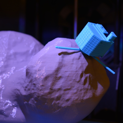 Free 3d printer files Philae & Tchouri 67P, leFabShop