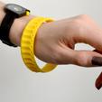Download free STL file ORI Bracelet • 3D printable design, leFabShop