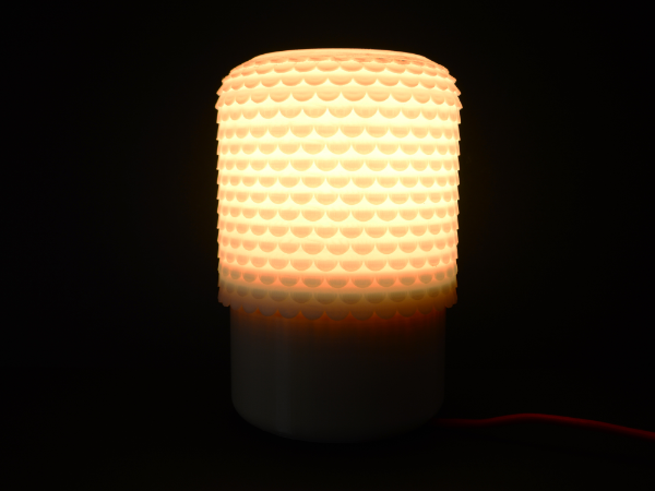 02-1.png Download free STL file Tile Lamp • Model to 3D print, leFabShop