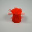 Plan imprimante 3D gatuit Le Moulin-Rouge, leFabShop