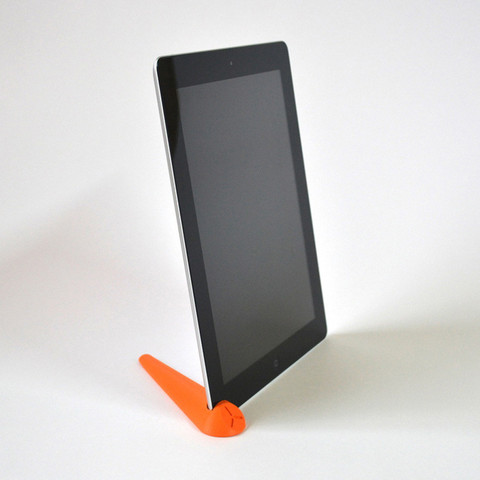 Free 3D printer files iPad 2 support and sound optimizer, leFabShop