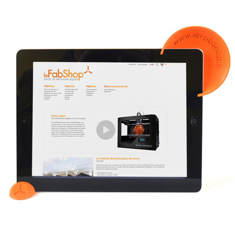 1.jpg Download free STL file iPad 2 support and sound optimizer • Model to 3D print, leFabShop