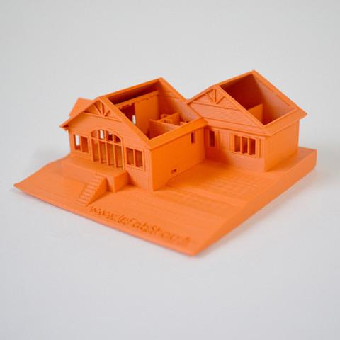 Descargar archivos STL gratis Imprimí la casa de mis padres en Canadá, leFabShop