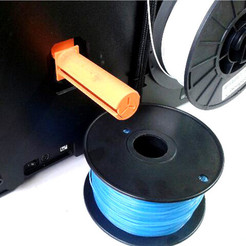 STL gratuit LFS generic spool holder for MakerBot Replicator, leFabShop